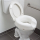 4 inch raised toilet seat